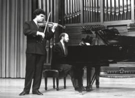 Joaquín Torre y Sebastián Mariné. Recital de violín y piano , 1994