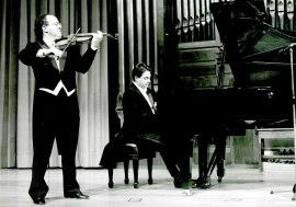 Joaquín Palomares y Brenno Ambrosini. Concierto Dos imágenes del nacionalismo ruso: Rimsky-Korsakov y Anton Rubinstein , 1994