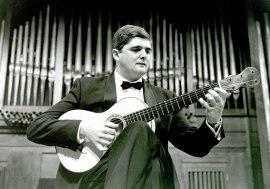 Paulino García Blanco. Concierto La guitarra romántica , 1994