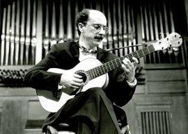 José Miguel Moreno. Concierto La guitarra romántica , 1994