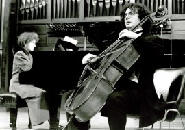 Mª Eugenia Jaubert Rius y Miguel Jaubert Rius. Recital de violonchelo y piano , 1994