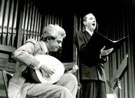 Rafael Benatar y Luis Vincent. Concierto Canciones de amor , 1994