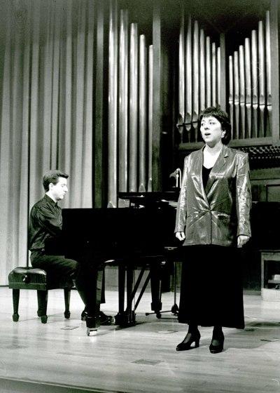 María Villa de la Torre y Gerardo López Laguna. Concierto Canciones de amor
