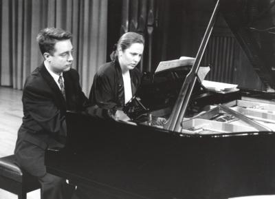 Iñaki Saldaña y Chiky Martín. Recitales para Jóvenes