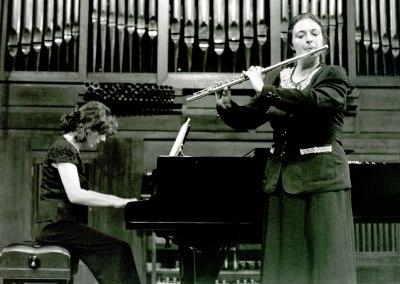 María Antonia Rodríguez y Aurora López. Recitales para Jóvenes
