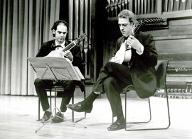 Juan Carlos de Mulder y Daniel Carranza. Concierto Música para tecla, arpa y vihuela , 1995