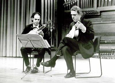 Juan Carlos de Mulder y Daniel Carranza. Concierto Música para tecla, arpa y vihuela