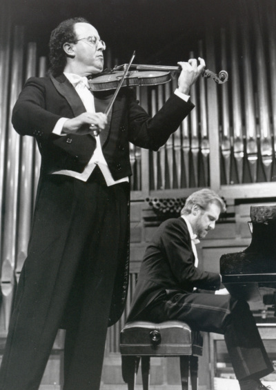 Joaquín Palomares y Michel Wagemans. Concierto Webern-Bartók: música de cámara