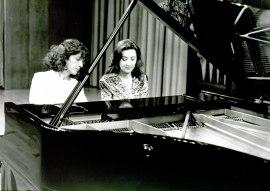 Clara Romero y Ana María Vega. Concierto Piano a cuatro manos (1995) , 1995