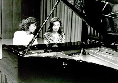 Clara Romero y Ana María Vega. Concierto Piano a cuatro manos (1995)