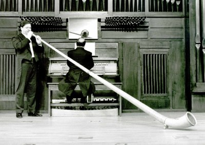 Cayetano Granados y Adalberto Martínez. Recital de trompa y órgano