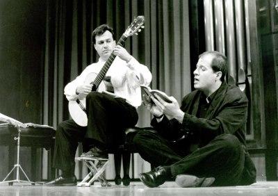 Paco Vizcaíno y Pablo Varon. Concierto Castelnuovo-Tedesco y la guitarra