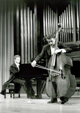 Germán Muñoz y Ángel Gago Bádenas. Recital de contrabajo y piano , 1995