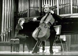 Claude Druelle y Jorge Otero. Recitales para Jóvenes, 1995