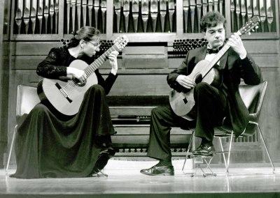 Avelina Vidal Seara Seara y Pedro Martin. Concierto Castelnuovo-Tedesco y la guitarra