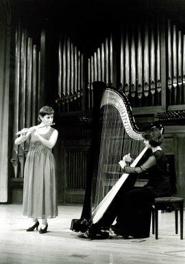 Virginia Martínez-Peñuela y Gloria Mª Martínez. Concierto Música de salón: el sexteto con piano , 1995