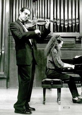 Patricio Gutiérrez y Miri Yampolsky. Recital de violín y piano , 1995