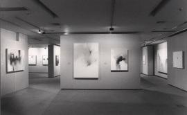 Vista parcial de la exposición Fernando Zóbel, 1984