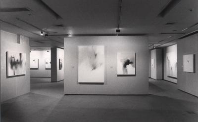 Vista parcial de la exposición Fernando Zóbel