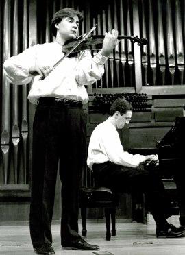 Luis Llácer y Francisco Navarro. Concierto Alrededor de la viola , 1995