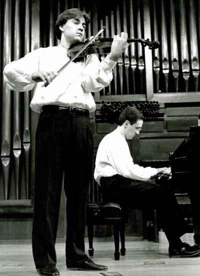 Luis Llácer y Francisco Navarro. Concierto Alrededor de la viola