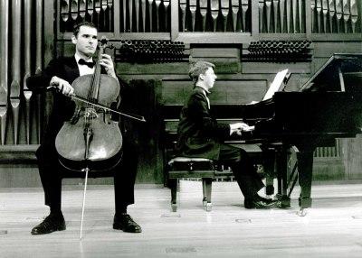 Michael Kevin Jones y Graham Jackson. Concierto Gabriel Fauré
