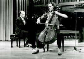 Lourdes Lecuona y Patxi Aizpiri. Recital de violonchelo y piano , 1995