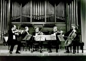 Cuarteto de Moscú y Eugenia Gabrieluk. Concierto Música de cámara: del dúo al quinteto , 1995