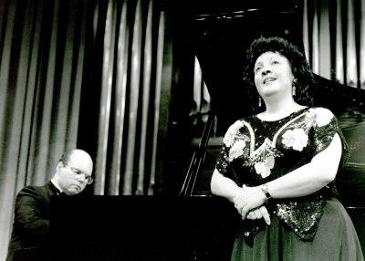 Adelina López y José Luis Fajardo. Concierto Ernesto Lecuona y la música cubana (En el centenario de su nacimiento)