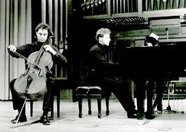 Francisco Ríos y Pablo Puig. Recital de violonchelo y piano , 1995