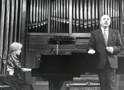 Ana Guijarro y Manuel Cid. Concierto Música para tres poetas