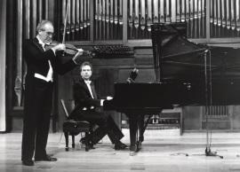 Enrique Santiago y Josep Colom. Concierto Hindemith. Música de cámara, 1995