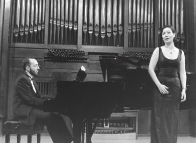 Kennedy Moretti y Marina Pardo. Recital de canto y piano