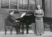 Margarita Buendía Rius y Xavier Pares. Recital de canto y piano , 1996
