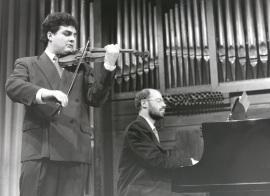 Joaquín Torre y Sebastián Mariné. Recitales para Jóvenes, 1996