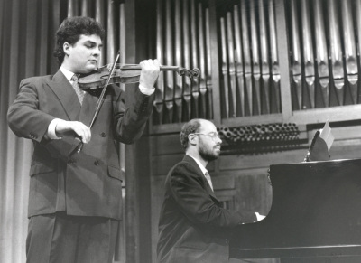 Joaquín Torre y Sebastián Mariné. Recitales para Jóvenes