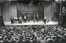Orquesta de Cámara Reina Sofía. Concierto Manuel de Falla y su entorno , 1996