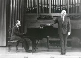 Sebastián Mariné y Manuel Cid. Concierto Música francesa de la época de Toulouse-Lautrec , 1996