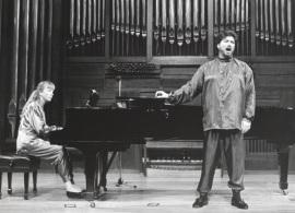 Nathalie Moulergues y Manuel Palacios. Recital de canto y piano , 1996