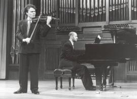 Gabriel Arcángel y Sebastián Mariné. Recital de violín y piano , 1997
