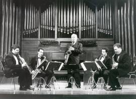 Pedro Iturralde y Cuarteto de Pedro Iturralde. Concierto Alrededor del saxofón , 1997