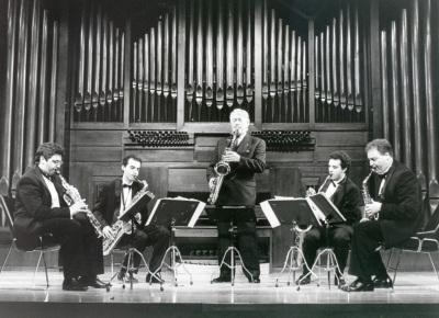 Pedro Iturralde y Cuarteto de Pedro Iturralde. Concierto Alrededor del saxofón