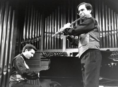 Gerardo López Laguna y Antonio Arias Gago Gago. Recitales para Jóvenes