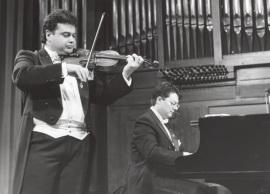 Manuel Guillén y Brenno Ambrosini. Concierto Schubert: música de cámara , 1997
