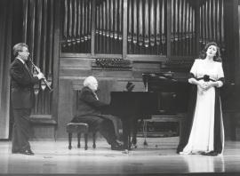 Adolfo Garcés, Miguel Zanetti y Mª José Montiel. Concierto Schubert: música de cámara , 1997