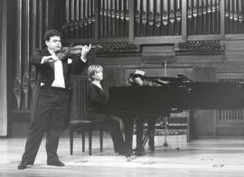 Manuel Guillén y Mª Jesús García. Concierto El violín virtuoso , 1997