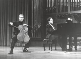 Frigyes Fogel y Ángel Chavaldas. Recital de violonchelo y piano , 1997