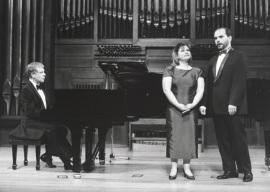 Rogelio R. Gavilanes, Conceiçao Galante y Nuno Vilallonga. Recital de canto y piano , 1997