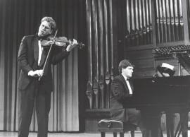 Abel Tomàs y Juan Carlos Garvayo. Concierto Bajo la estrella de Diaghilev , 1997