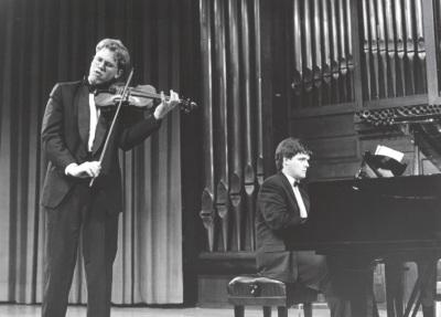 Abel Tomàs y Juan Carlos Garvayo. Concierto Bajo la estrella de Diaghilev